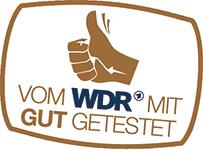 Vom WDR mit GUT getestet